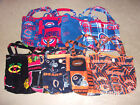 DIAPER BAGS (TOTE BAGS) SPORTS PATTERNS on Ebay