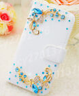 New Bling Luxury Diamonds Crystal PU Leather wallet flip Stand Cover Case K2