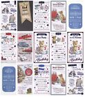 TALL CUTE OR TRADITIONAL MALE BIRTHDAY CARDS  TITLE FOR ALL MALES 1ST P&P L@@K