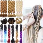 how to ombre red hair - 3-5 Packs Jumbo Braiding Hair Ombre 2Tone African Braids Weave Hair Extensions