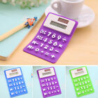 Portable Solar Power Touch Silicone Scientific Calculator Student Study Newly