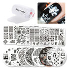 Born Pretty Nail Art Stamping Plate Image Print Design Template DIY Manicure Kit
