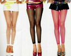Music Legs 9005 Women Footless Tights Fishnet Lycra Reg Blac