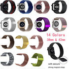 Stainless Steel Milanese Loop Magnetic Watch Band for Apple Watch...
