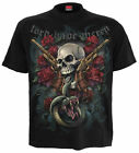 SPIRAL DIRECT LORD HAVE MERCY T-Shirt/Guns Roses/Skull/Biker/Goth/Tattoo/Top