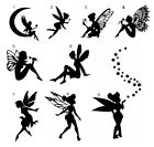 Fairy Vinyl Sticker Decal Tinkerbell Pixie Wine Glass Bottle Cup Wall