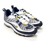 NWT Nike Air Max 98 OG Tour Yellow White Navy Men's Sneakers 2018 DS AUTHENTIC
