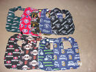 BABY BIBS IN SPORTS AND MISCELLANEOUS PATTERNS