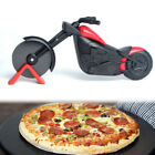 Pizza Cutter Chopper Slicer Home Kitchen Gadget Gifts Motorbike Shape New Black