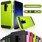 Hybrid Brushed Shockproof Hard Slim Case Cover For Samsung Galaxy S9 / S9+ Plus