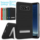 Samsung Galaxy Note 8 S8+ Slim Shockproof Hybrid Hard Armor Case Kickstand Cover
