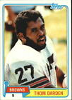 1981 Topps Football Cards 241-480 +Rookies - You Pick - Buy 10+ cards FREE SHIP $0.99 USD on eBay