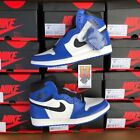 2018 Nike Air Jordan Retro 1 High OG Game Royal Blue 555088 403 lot Sz: 4y-13