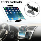 NEW CD Slot Universal Tablet Car Mount Holder for Cell Phone & 8-10 inch Tablets