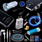 Bundle Magnetic Lens Car Wall QI Charger Cable for Samsung Galaxy S9 S8 Note8 S7