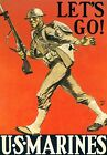 US+Marine+Corps+Recruiting+Poster+-+WW2+American+Propaganda+Poster%2C+US+Navy