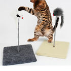 Cat Kitty Sway Toy Kitten Spiral Play Ball Pole Activity Post Scratch Sisal Fun