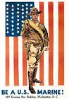 US Marine Corps Posters - WWII US Military - US Army WW2 American Marines Navy