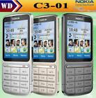 Nokia C3-01 GPRS WIFI Bluetooth 5MP 3G English/Russian/Arabic keyboard phone