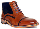Justin Reece Hi Dennis Mens Leather Matt Boots