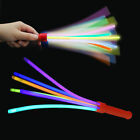 Glow In The Dark Stick Glo Party Wand Festival Rainbow Light Up Concert Kids Hen