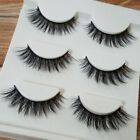 15 Pair Black Faux Mink Natural Cross Long Thick Eye Lashes False Eyelashes Best <br/> Upgraged to 3D-15, 3/6/15 Pairs, US FAST FREE SHIPPING!