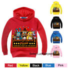 Внешний вид - Kids Boys & Girls Five Nights at Freddy's Hooded Sweater Sweatshirt Hoodies New
