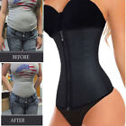 Fajas Colombianas Zip Latex Rubber Waist Trainer Weight Loss Cincher Slim Corset
