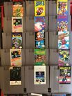 Nintendo NES Games Clean & Tested LISTING #1 Games starting with A through G