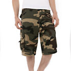 Mens Military Army  Casual Cargo Shorts 6 Colors Fatigue Camo Cargo Shorts Pants