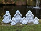 3 Wise Happy Garden Buddha Ornaments Decor,hear No, See No, Speak No Evil 3