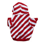 Pet dog clothes clothing cotton red striped T-shirt Tactic clothes wholesale