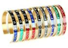 Rolex SPEEDOMETER BRACELET 316L GOLD Stainless Steel Watch Bangle Jewelry LUXE
