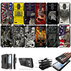 For [ LG Aristo, LG Fortune ] Rugged Hybrid Heavy Duty Holster Case Clip Cool