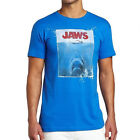 OFFICIAL Jaws Mens T-Shirt Shark Amity Island Population 1975 Movie Poster