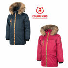 Color Kids Rakata padded Parka Air flo 2000 Winterjacke Kinder Kinderjacke