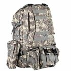 55L Large Molle Outdoor Military Tactical Bag Camping Hiking Trekking Backpack