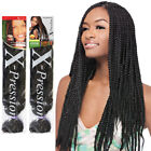 "X-Pression Ultra Braid 82"" Long Braiding Hair XPression 100 Kanekalon 1 Color"