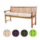 Outdoor Garden 2 / 3 Seater Tufted Bench Cushion Water Resistant Pad Replacement