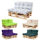 Pallet Sofa Cushions Water Resistant Fabric Euro Pallet Size Outdoor Garden Seat