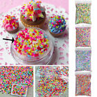 100g DIY Polymer Clay Colorful Fake Candy Sweet Sugar Sprinkles All Beauty SWTG image