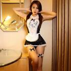 Women Nightwear Lace Costume Cosplay Maid Sexy Lingerie Outfit Fancy Dress Hot W