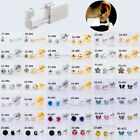 24pcs Disposable Sterile Unit Ear Nose Stud Piercing Gun Piercer Tool Machine