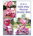🌸  Bestseller Hello Kitty 2 in 1 Musical Stroller Bike 🌸
