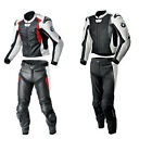 BMW Multi Color Motorcycle Leather Suit Sports Motorbike Leather Jacket Trouser