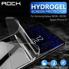 acemannan hydrogel - ROCK HYDROGEL AQUA FLEX Screen Protector for Samsung Galaxy S9 S8+ iPhone X 8 76