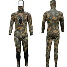 Camouflage Spearfishing Medium Wetsuit SCUBA Diving Hooded 3mm Camo 2 Piece Hood
