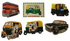 India Rickshaw Taxi Metal Fridge Magnet Mumbai India Cricket Souvenir
