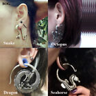 Seahorse Dragon Ear Weights Hangers Gauges Expander Stretcher Piercing Earring