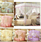 Home Bedding Canopy Mosquito Netting Or Bed Frame Twin Full Queen King Size Nets image